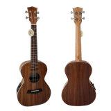 Marque Aiersi Koa Body Electric ukulele tenor