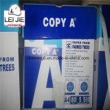 Hojas del papel de copia de A4 70GSM 80GSM 500 arriba blancas