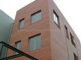 Revestimiento plástico de madera impermeable resistente ULTRAVIOLETA de la pared del panel de pared de WPC