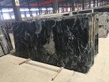 Straal Zwarte Kosmische Natuurlijke Tegel 1cm van het Graniet de Goedkope Tegels van de Bevloering
