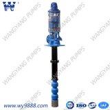 Jeu vertical de pompe de turbine arbre chaud de vente de long