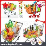 Carrito de compras de supermercado minorista