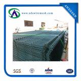 Le PVC incurvé a enduit la frontière de sécurité soudée de treillis métallique de frontière de sécurité de treillis métallique \ 3 courbures