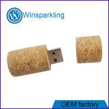Flash del USB del mecanismo impulsor del flash del USB del corcho de la buena calidad
