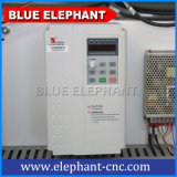 Router di CNC di falegnameria di 4 assi con l'unità rotativa dall'elefante blu