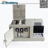 Тестер кисловочного значения масла изготовления испытания масла ASTM D974 установленный