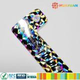При отклонении от нормы управления земельными ресурсами custom пластиковый RFID Блестящие цветные лаки голографических браслет