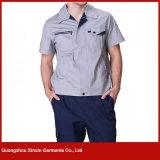 Uniforme fonctionnant bleu gris de couturier pour l'ingénieur (W20)