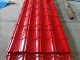 Strato ondulato galvanizzato del tetto del TUFFO caldo di Gi PPGI del Cile Paraguay Sudamerica