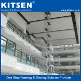 構築のScafolding卸し売りシステム販売のためのアルミニウムリングロックの足場
