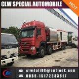 8*4 HOWOの頑丈なアスファルト噴霧のトラック、アスファルト砂利の販売のための同期シーリングトラック