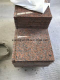 China Pedreira G562 mais barato para a etapa de granito vermelho Maple vaidade &Revestimento de parede superior