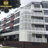 Powder Coated Facade Exterior Aluminum barrier Covering panel for Decoration