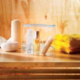 Belüftung-kosmetischer Beutel mit Plastikreißverschluß mit kundenspezifischem Firmenzeichen