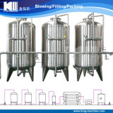 Kohlenstoff und Sandfilter mit RO-Wasserbehandlung-System/Maschine