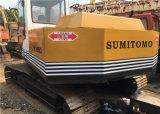 A máquina escavadora usada de Sumitomo S260f2, Japão usou máquinas escavadoras de Sumitomo S260 S280 para a venda