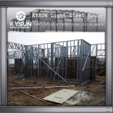 Villa mobile d'acciaio dell'indicatore luminoso della struttura d'acciaio per i dormitori