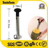 3 en 1 de alta calidad Stainless-Steel Piña sacatestigos Slicer dispensador