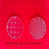 Placa de cristal popular de cuarzo de la dimensión de una variable