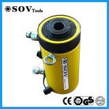 Cilindro hidráulico do atuador oco ativo dobro do tipo do Sov