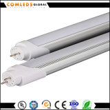 Alta luz del tubo del lumen 9W los 0.6m/1.2m Aluminum+Plastic LED