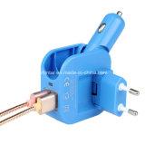 caricatore doppio compatto della parete del USB 2-in-1 e caricatore dell'automobile