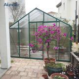 China-wasserdichtes Aluminiumpolycarbonat-grünes Haus mit Windows für Verkauf