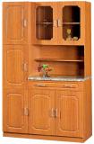 Unidade simples barata moderna da cozinha dos gabinetes de cozinha do MDF