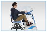 O exercitador do pedal do braço e do pé/assentou