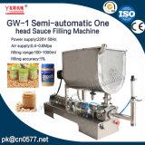 Uma máquina de enchimento principal semiautomática para a manteiga de amendoim (GW-1)