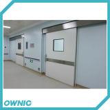 Porte coulissante serrée d'air automatique intrinsèque pour l'hôpital
