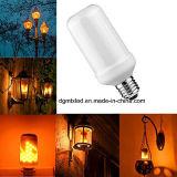 Lampadine del fuoco di effetto della fiamma del LED, indicatori luminosi creativi con emulazione tremula