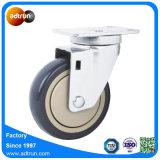 4 pulgadas 100kg de capacidad de la rueda de carro de la utilidad de Poly Caster
