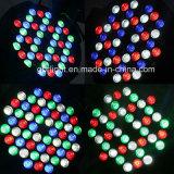 54*3W RGB 3in1 Stadiums-Wäsche LED NENNWERT 64 kann beleuchten