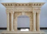대리석 벽난로 벽로선반 /Stone 벽난로 대리석 벽로선반 또는 돌 벽로선반 벽난로