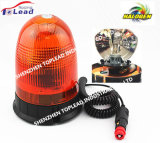 12-24V SMD5730 LED strobe Rotating warning Light with solenoid and Plug