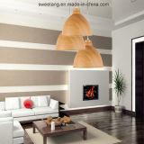 De moderne Eenvoudige Lichte Lamp van de Tegenhanger van de Kroonluchter met Houten Kleur