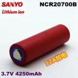 De navulbare Batterij 4250mAh van de Batterij NCR20700b van het Lithium Ionen3.7V voor SANYO