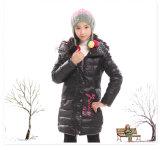 De quatro cores do inverno revestimento bonito para baixo para a menina