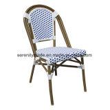 의자를 식사하는 쌓을수 있는 파리 옥외 등나무 고리 버들 세공 다방