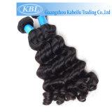 Уток человеческих волос девственницы двойного слоя Kabeilu