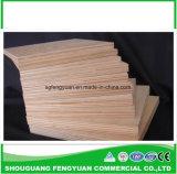 Madera contrachapada al por mayor de Okoume para la madera contrachapada comercial de los muebles de China