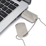 Ejército cordón Dog Tag U disco Flash Drive USB OEM