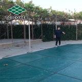 Seguridad de malla de polipropileno cubierta de piscina piscina personalizado