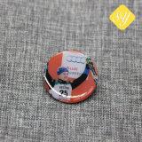 中国の工場は金属にカスタムボタンPin Bageを作った