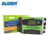 Suoer 48V 30A Manual PWM Controlador de carga solar (ST-C4830)
