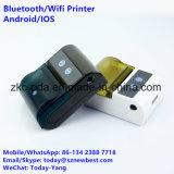 Mini impressora portátil da foto com bateria recarregável