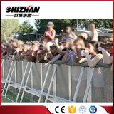 Barricada de acero del concierto del control de muchedumbre de la cerca