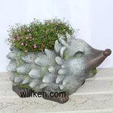 Flowerpot bello di rivestimento del granito di figura dell'istrice di nuovo arrivo