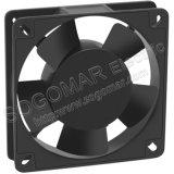Ventilador eléctrico del panel plástico de los impulsores 108X108X25m m 220V 50Hz del marco de Alu